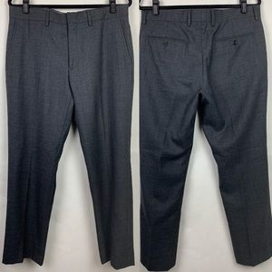 J Crew Classic Fit Dress Pants Wool Gray 33X30